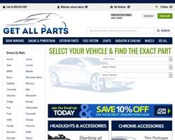 Get All Parts coupon code