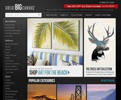 Greatbigcanvas.com coupon