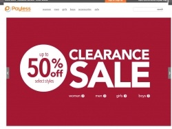 Payless Shoesource coupon code