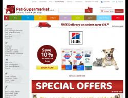 Pet-Supermarket.co.uk coupon code