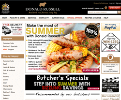 Donald Russell coupon code