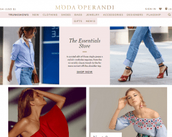 Moda Operandi coupon code