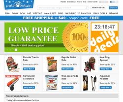 Petmountain.com discount code